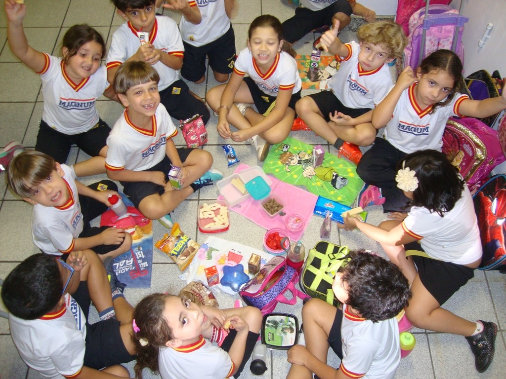 PIQUENIQUE DIVERTIDO - 1º ANO 2